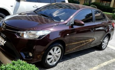 Red Toyota Vios 2017 for sale in Cainta