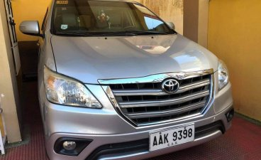 Selling Silver Toyota Innova 2015 in Baguio