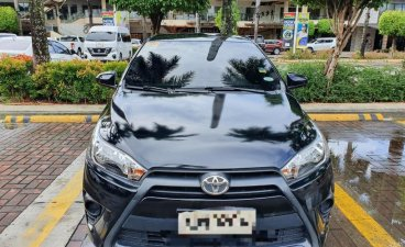 Black Toyota Yaris 2016 for sale in Cebu