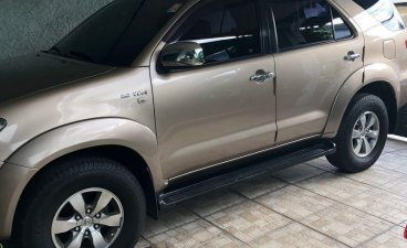 Golden Toyota Fortuner 2007 for sale in Paranaque