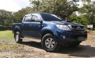Blue Toyota Hilux 2008 for sale in Quezon