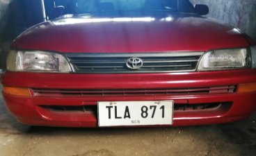 Selling Red Toyota Corolla 1994 in Quezon