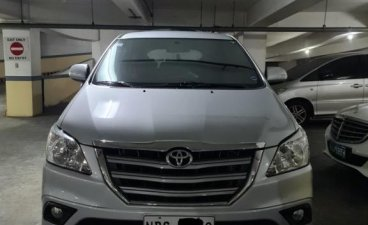 Brightsilver Toyota Innova 2016 for sale in Mandaluyong