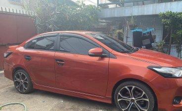 Orange Toyota Vios 2015 for sale in Valenzuela