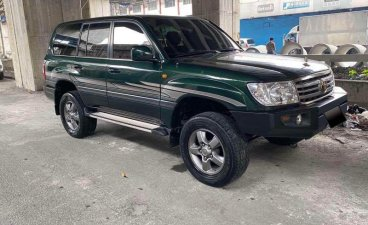 Toyota Land Cruiser 105 Manual 2002