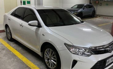 Selling Pearlwhite Toyota Camry 2018 in San Juan