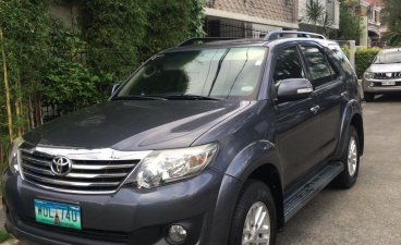 Grey Toyota Fortuner 2014 for sale in Pasig