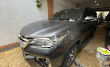 Silver Toyota Fortuner 2017 for sale in Quezon