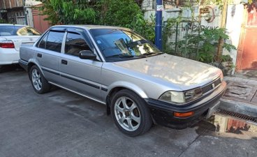 Brightsilver Toyota Corolla 1990 for sale in Makati