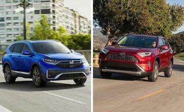 Honda CR-V vs Toyota RAV4: The Two Old-timers Battle!