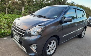Selling Grey Toyota Wigo 2017 in San Fernando