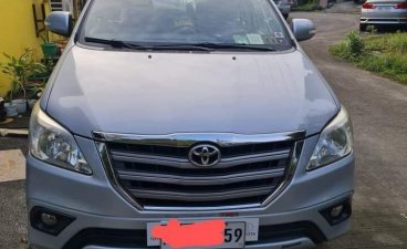 Selling Silver Toyota Innova 2016 in Quezon
