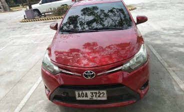 Red Toyota Vios 2015 for sale in San Antonio