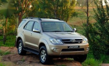Selling Silver Toyota Fortuner 2006 in Quezon
