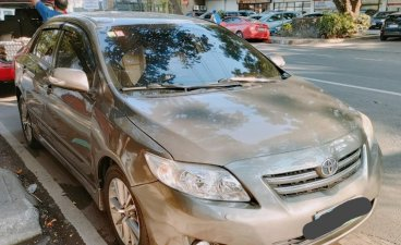 Silver Toyota Corolla Altis 2008 for sale in Quezon