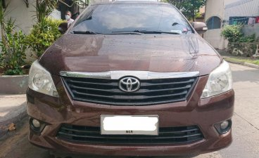 Red Toyota Innova 2014 for sale in Paranaque