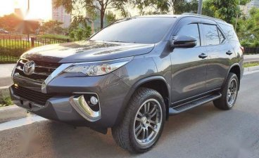 Grey Toyota Fortuner 2018 for sale in Manila