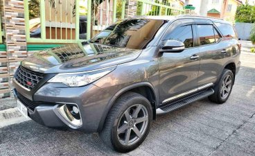 Selling Grey Toyota Fortuner 2016 in San Jose del Monte