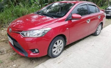 Red Toyota Vios 2015 Sedan for sale in Aurora