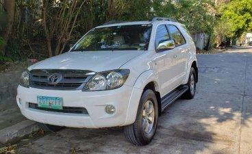 White Toyota Fortuner 2007 for sale in San Juan