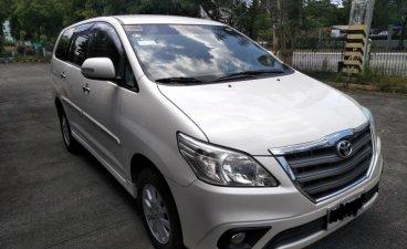 Sell Pearl White 2014 Toyota Innova in Dasmariñas