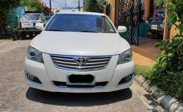 Selling Pearl White Toyota Camry 2017 in Tayabas