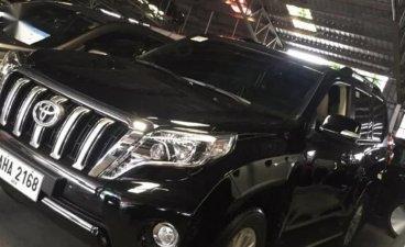 Selling Black Toyota Prado 2015 in Manila