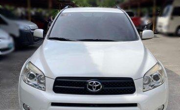 White Toyota Rav4 2008 for sale in Manila