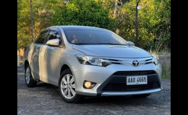 Silver Toyota Vios 2014 for sale in Angeles