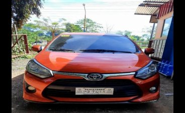 Selling Orange Toyota Wigo 2019 in Caloocan