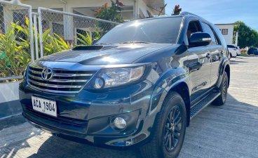 Black Toyota Fortuner 2014 for sale in Manila