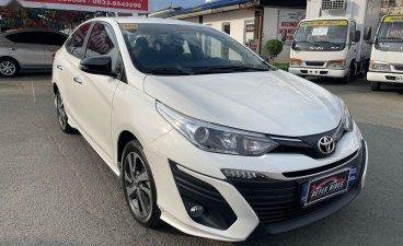 Pearl White Toyota Vios 2019