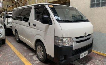 White Toyota Hiace 2018