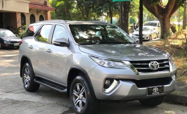 Silver Toyota Fortuner 2017