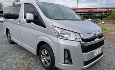 White Toyota Hiace 2020