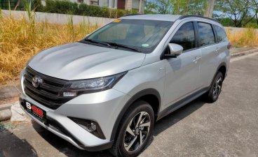 Silver Toyota Rush 2021