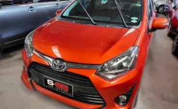 Orange Toyota Wigo 2019