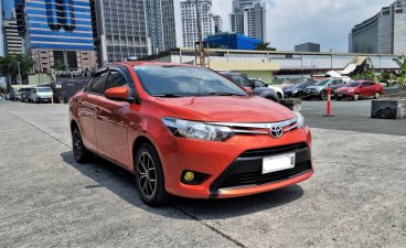 Selling Orange Toyota Vios 2017 in Pasig