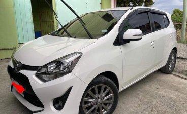 White Toyota Wigo 2017 for sale in Laoag