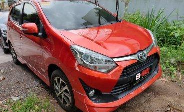 Orange Toyota Wigo 2020