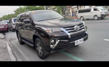 Selling Black Toyota Fortuner 2019 in Quezon