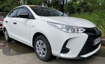 White Toyota Vios 2021
