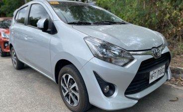 Silver Toyota Wigo 2019