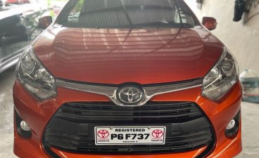 Selling Orange Toyota Wigo 2020