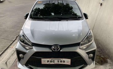 Silver Toyota Wigo 2020
