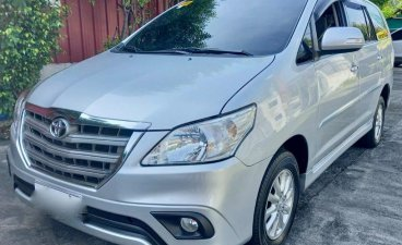 Selling Silver Toyota Innova 2016