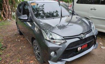 Silver Toyota Wigo 2021 for sale in Quezon