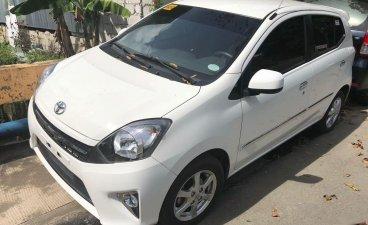White Toyota Wigo 2016