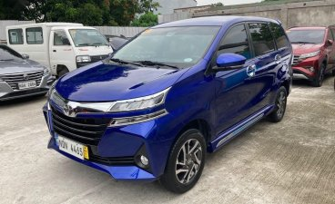 Selling Blue Toyota Avanza 2019 in Quezon