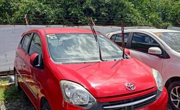 Selling Red Toyota Wigo 2017 in Paranaque